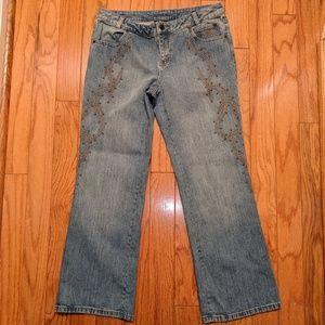 Harley-Davidson Studded Jeans